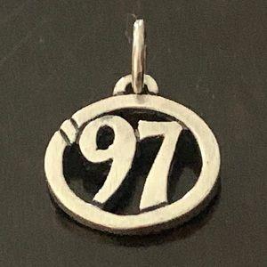 RARE James Avery'97 Class of 1997 circle charm